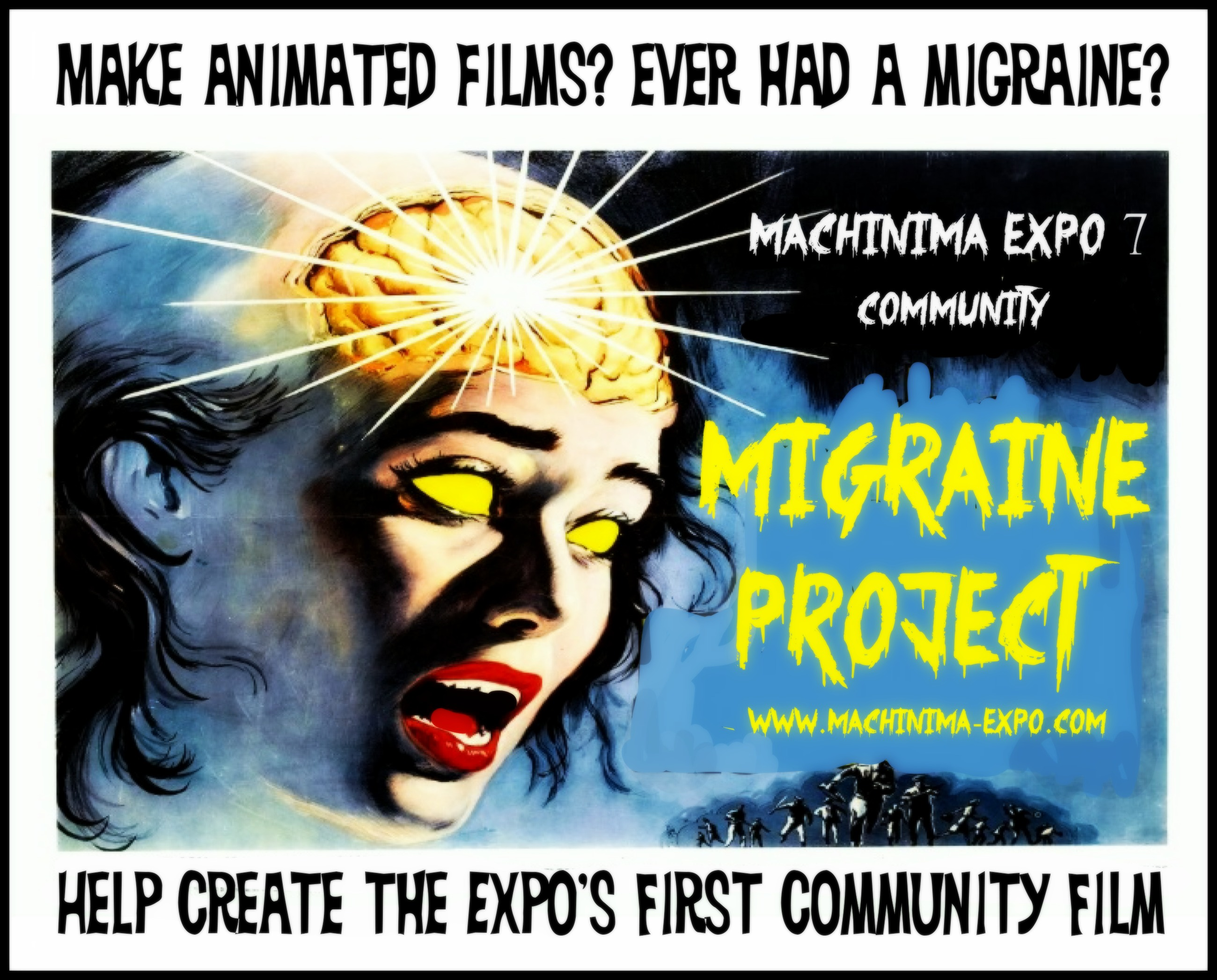 Contribute to the First Annual Community Film  Project at the Expo 7